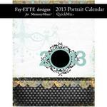 2013 Calendar Fayette Portrait QuickMix-$4.99 (Fayette Designs)