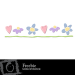 Flower Border Freebie-$0.00 (Lasting Impressions)