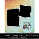 2013 Calendar Fayette Portrait QuickMix 2-$4.99 (Fayette Designs)