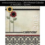 2013 Calendar Annette Portrait QuickMix-$4.99 (Ettes and Company by Annette)