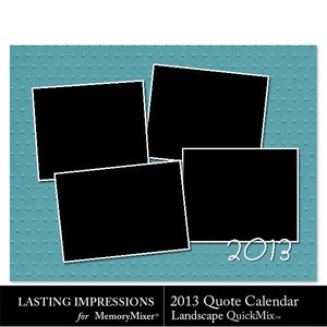 2013 calendar ls quotes qm medium