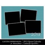 2013 calendar ls quotes qm small