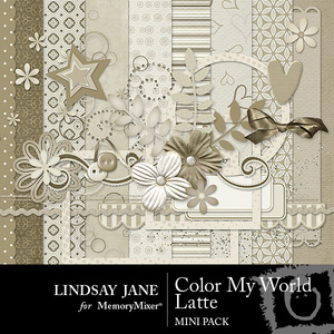 Color my world latte mini medium