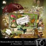Goodbye Summer Embellishment Pack-$1.75 (MagicalReality Designs)