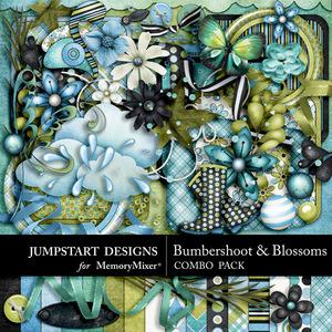 Bumbershoot and blossoms combo medium