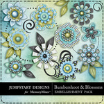 Bumbershoot and Blossoms Blooms Pack-$1.99 (Jumpstart Designs)
