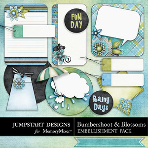 Bumbershoot and blossoms journals medium