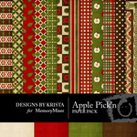 Apple Pickn Paper Pack-$3.99 (Designs by Krista)
