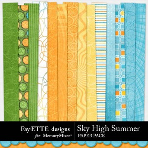 Sky high summer pp medium