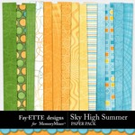 Sky High Summer Paper Pack-$3.99 (Fayette Designs)