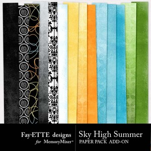 Sky high summer add on pp medium