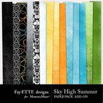 Sky High Summer Add On Paper Pack-$2.00 (Fayette Designs)