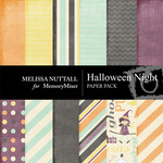 Halloween Night Paper Pack-$3.49 (Melissa Nuttall)