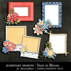 Stars in bloom clusters medium