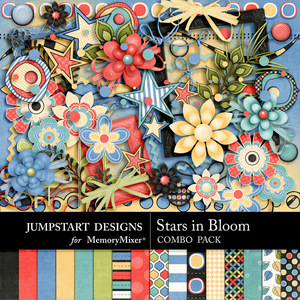 Stars in bloom combo medium