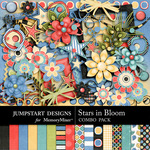 Stars in Bloom Combo Pack-$5.99 (Jumpstart Designs)