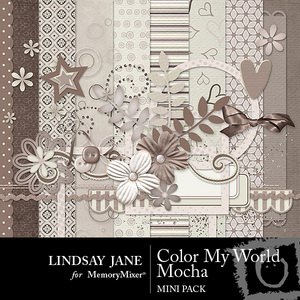 Color my world mocha mini medium