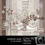 Color my world mocha mini small