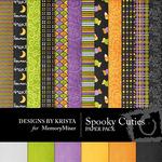 Spooky Cuties Paper Pack-$3.49 (Designs by Krista)