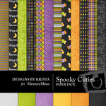 Spooky Cuties Paper Pack-$3.49 (Designs by Krista)