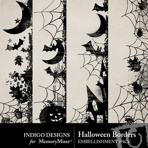 Halloween borders medium