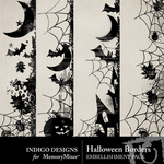Halloween ID Border Pack-$2.49 (Indigo Designs)
