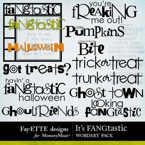 Its fangtastic wordart medium