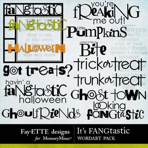 Its fangtastic wordart medium
