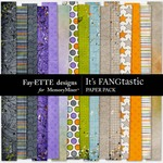 Its FANGtastic Patterned Paper Pack-$3.99 (Ettes and Company by Fayette)