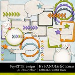Its FANGtastic Extra Embellishment Pack-$2.49 (Ettes and Company by Fayette)