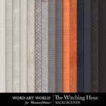 The Witching Hour Paper Pack 1-$3.99 (Word Art World)