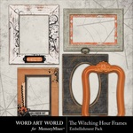 The Witching Hour Frame Pack-$1.50 (Word Art World)