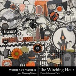 The Witching Hour Embellishment Pack-$2.99 (Word Art World)