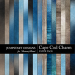 Cape Cod Charm Add On Paper Pack-$1.50 (Jumpstart Designs)