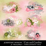 Cute and Carefree Scatters Pack-$1.99 (Jumpstart Designs)