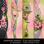 Cute and Carefree Border Pack-$1.99 (Jumpstart Designs)