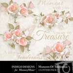 Moment of Tenderness Cluster Pack-$1.99 (Indigo Designs)