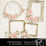 Moment of Tenderness Cluster Frame Pack-$2.25 (Indigo Designs)