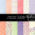 Lil Miss Sunshine Paper Pack-$3.49 (Karen Lewis)