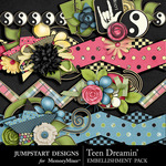 Teen Dreamin Border Pack-$2.99 (Jumpstart Designs)