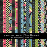 Teen Dreamin Add On Paper Pack-$2.99 (Jumpstart Designs)