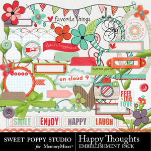 Happy thoughts emb medium