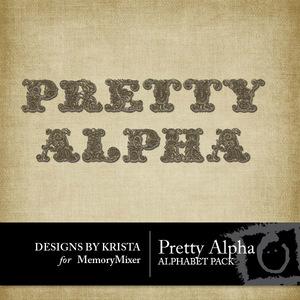 Pretty alpha medium