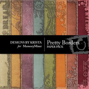 Pretty border pp medium