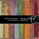 Pretty Border Paper Pack-$3.99 (Designs by Krista)