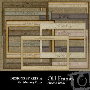 Old frame emb medium