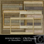 Old Frame Embellishment Pack-$2.99 (Designs by Krista)