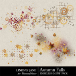 Autumn Falls Scatters Pack-$0.99 (Lindsay Jane)