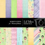 Lil' Miss Paper Pack-$4.00 (Karen Lewis)