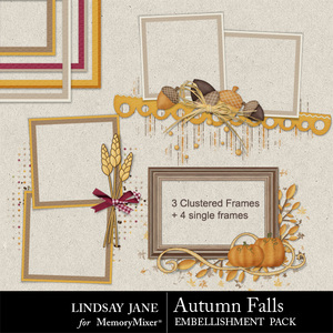 Autumn falls frames medium